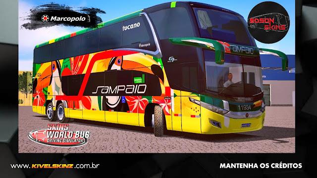 PARADISO G7 1800 DD 6X2 - VIAÇÃO SAMPAIO TUCANO