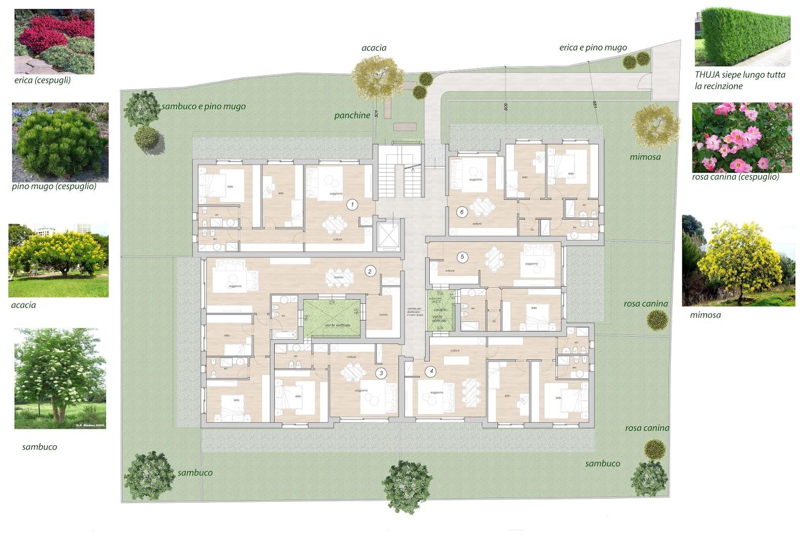 Arredamento e dintorni progetto condominio di 18 appartamenti for Progetti moderni