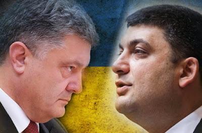 Порошенко пошел открытой войной на Гройсмана с целью убрать его до выборов