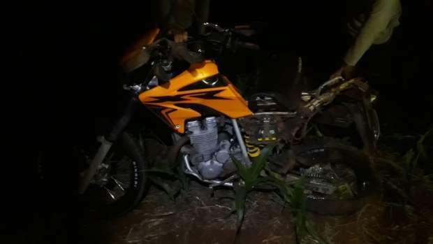 Jovem fica ferido em acidente na PR 467 em Marechal Rondon