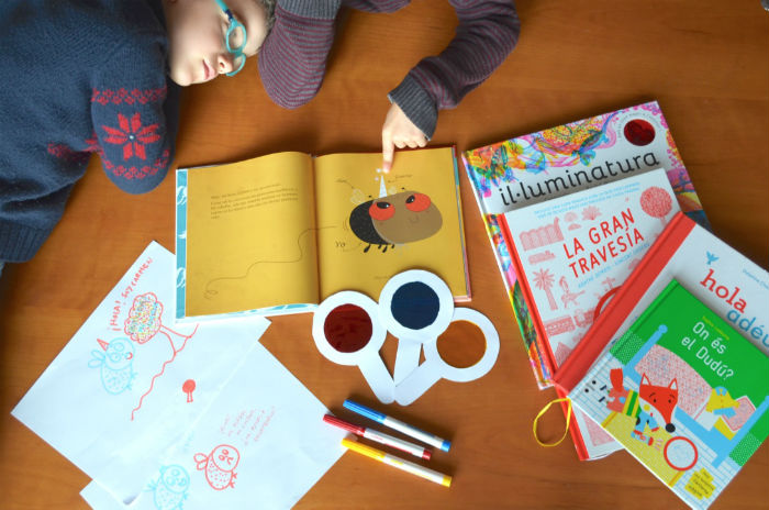 actividad creatividad niños: cuento un animal magico tragamanzanas