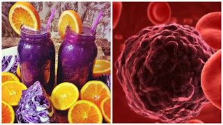 Comment préparer un jus anti-cancer au chou rouge, orange et betterave