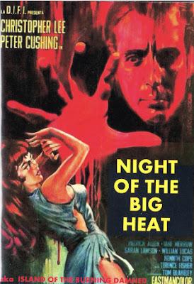 Poster, Night of the Big Heat, 1967