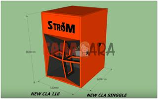 Skema Box Strom Audio 18 inch