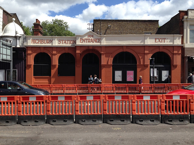 Disused entrance to Highbury Station