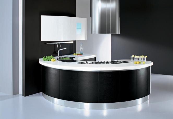 Nuevas tendencias en dise os de cocinas ideas para for Casas modernas redondas