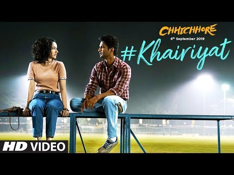 खैरियत Khairiyat Lyrics – Chhichhore | Arijit Singh