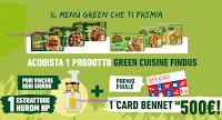 """Concorso Findus """"Il Menù Green che ti premia"""" : vinci 15 Estrattori HUROM HP e 1 Card Bennet da 500 euro"""