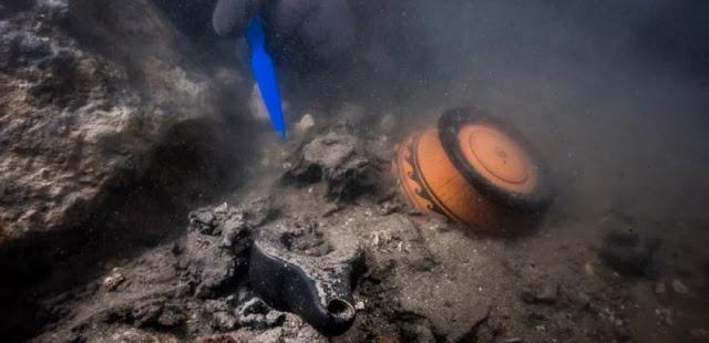 Αρχαιολογικός «θησαυρός» στη Μεσόγειο: Ναυάγιο και ελληνικοί τάφοι εντοπίστηκαν σε βυθισμένη πόλη στην Αίγυπτο