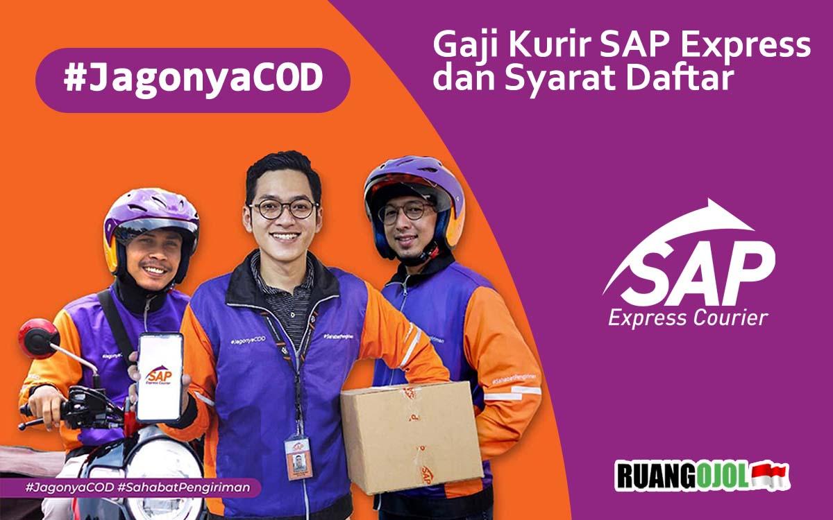 Gaji Kurir SAP Express