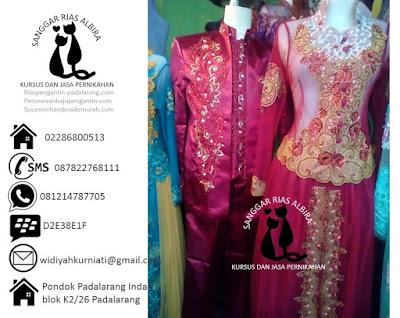 Harga sewa baju pengantin muslimah couple