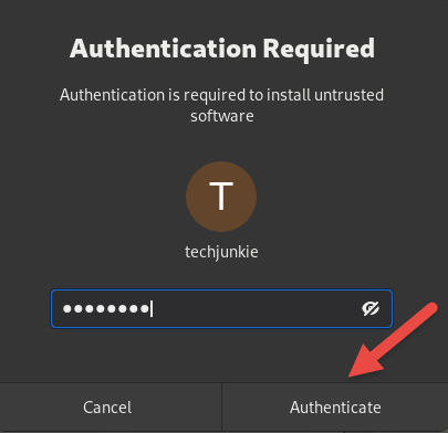 Authentication for super user