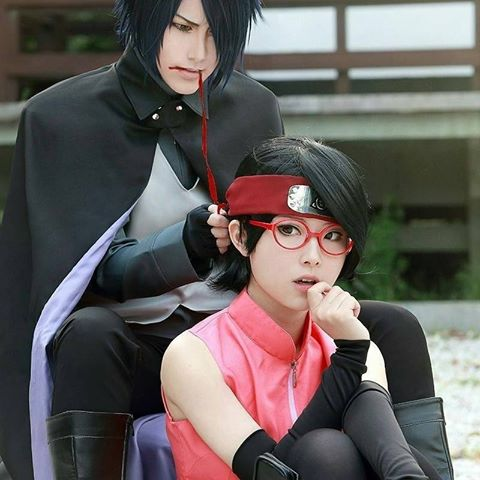 Keren, Begini Penampilan Para Cosplay Anime Boruto ...