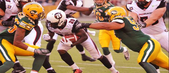 Edmonton Eskimos vs Ottawa Redblacks