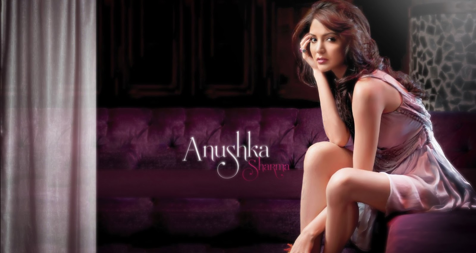 Anushka Sharma Hot  Sexy Bikini Hd Wallpaper  Images -1781