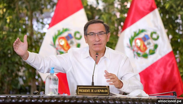 Presidente Martín Vizcarra anuncia bono familiar universal de 760 soles para hogares vulnerables