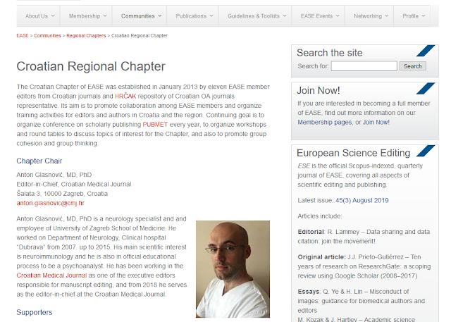 Croatian Regional Chapter Updates