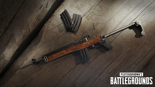 PUBG New Weapon