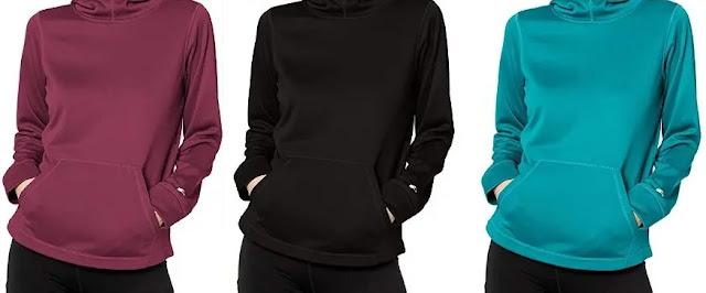 1- Starter Women's AUTHEN-TECH Pullover Hoodie