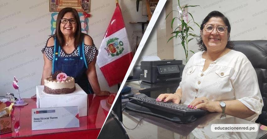 DRELM: Carmen Najarro y Rosa Alcocer tenían destinado ser maestras y cumplieron entregando amor y conocimientos a sus estudiantes de inicial - www.drelm.gob.pe