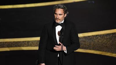 Joaquin Phoenix Oscar 2020 leading actor award
