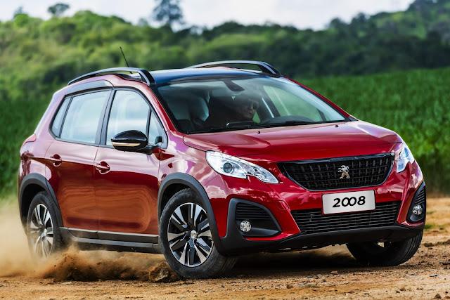 Peugeot 2008 THP Automático 2021 - Preço