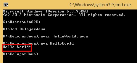 Output Program Java