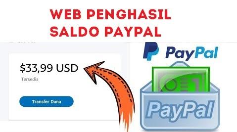 20 Web Penghasil Saldo Paypal Paling Legit 2021 Teknoart My Id Media Berita Teknologi