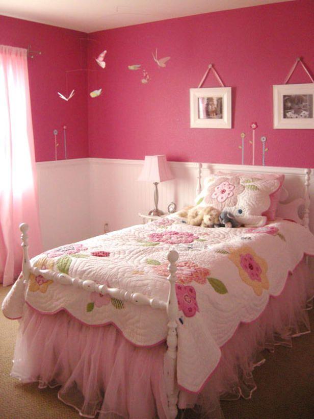 Warna Cat Kamar Anak : warna, kamar, Saran, Warna, Untuk, Kamar, Tidur, Perempuan, Contohnya, Inspirasi