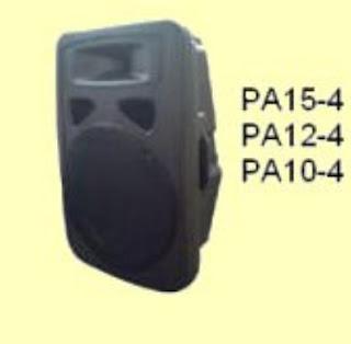 Membeli Kotak Speaker Plastik Kosong Siap Pakai -China