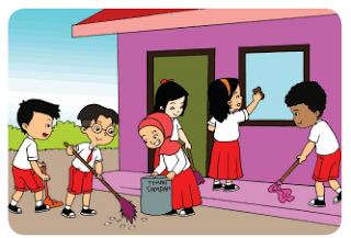 Menjaga Kebersihan Linkungan Sekolah www.simplenews.me