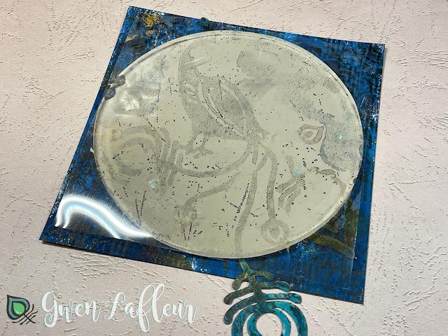 Printmaking with Stencils - Tutorial Step 3 - Gwen Lafleur