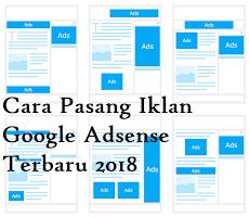 Cara Memasang Iklan Google Adsense di Blogger
