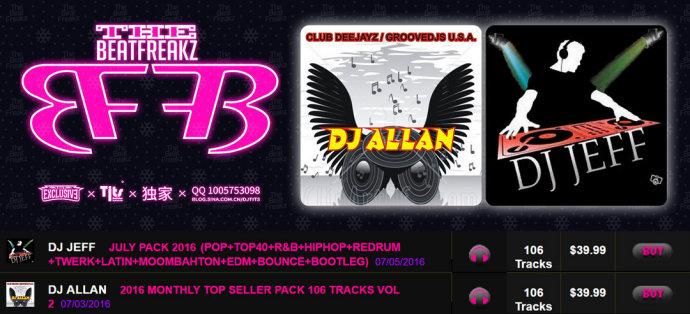 BeatFreakz] DJ Allan + DJ Jeff Vip Pack - EDM Cambodia