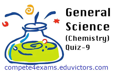 General Science Quiz - 9 (#sciencequiz)(#eduvictors)(#compete4exams)