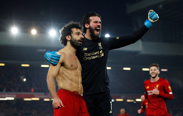 Video Cuplikan Gol: Liverpool 2-0 Manchester United (Premier League)