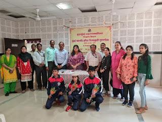 मनपा का नाम रोशन करने वाले विद्यार्थियों का किया गया सम्मान | #NayaSaberaNetwork