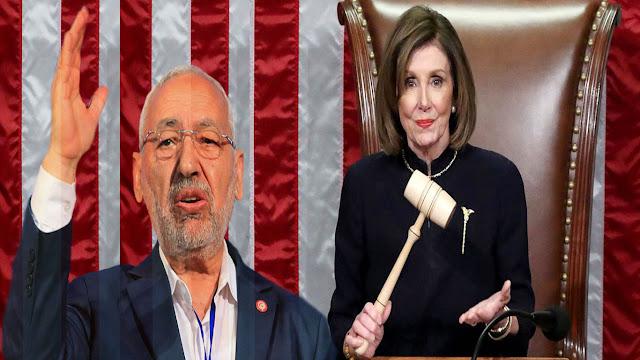 تونس: راشد الغنوشي يؤدي زيارة إلى واشنطن بدعوة من نانسي بيلوسي