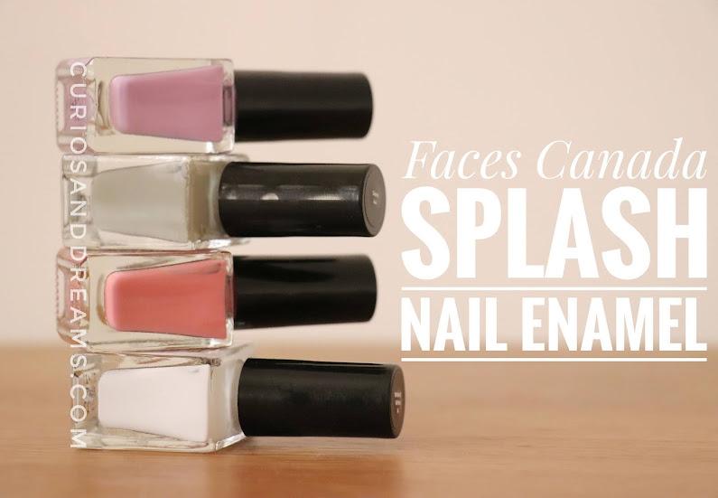 Faces Canada Splash Nail Enamel, Faces Canada Splash Nail Enamel review, Faces Canada Splash Nail Enamel swatches