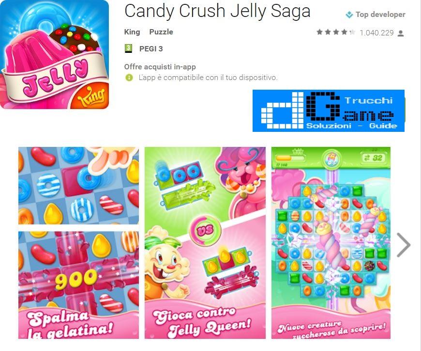 Trucchi Candy Crush Jelly Saga Mod Apk Android v1.38.2