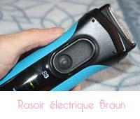 Test rasoir électrique de Braun séries 3 3040s