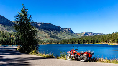 Uraling for Fall Colors along the Million Dollar Highway
