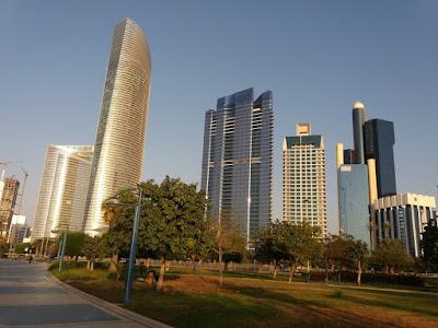 Abu Dhabi sky line