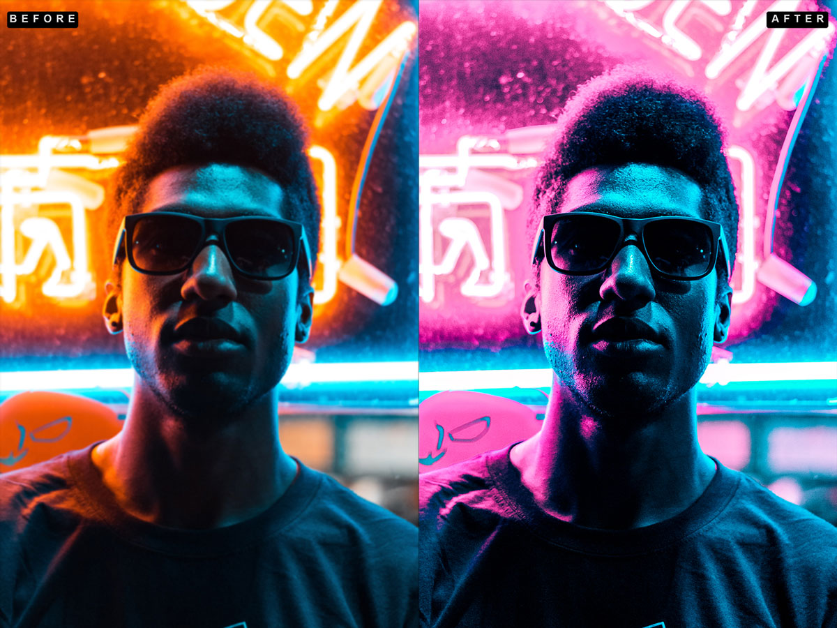 Supreme Neon   Premium Photoshop Action 27161588 f