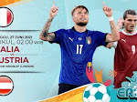 Link Live Streaming Euro 2020, Italia Vs Austria