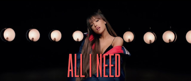 "Ariana Grande Premieres ""Everyday"" Lyric Video"
