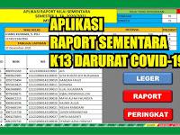 Download Aplikasi Raport Sementara K13 Semester 1 TA 2020/2021 Pengganti ARD