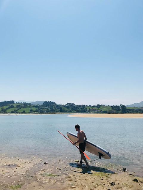 tabla Paddle Surf Hinchable de Decathlon