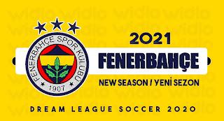 Fenerbahçe 2021- DLS2020 Dream League Soccer 2020 Forma Kits ve logo ( YENİ SEZON )