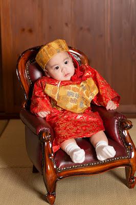 沖縄 琉装 赤ちゃん 写真撮影